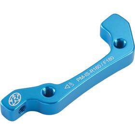 Reverse IS-PM Adattatore disco 180mm anteriore/160mm posteriore, blu